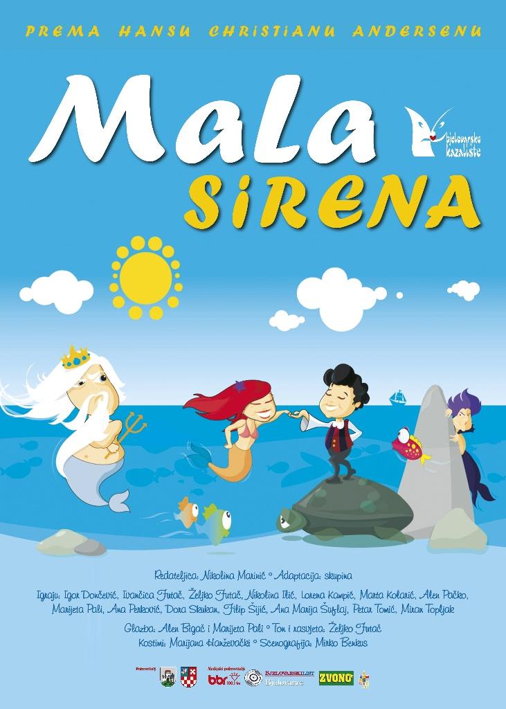 Read more about the article MALA SIRENA – nedjelja 27.11.2016 u 17,00 sati