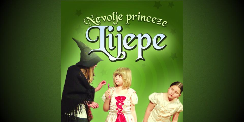 """Pročitajte više o članku Predstava za djecu """"Nevolje princeze Ljepe"""" – 26.02.2017. u 17,00 sati"""