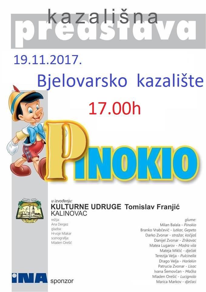 """Trenutno pregledavate Kazališna predstava """"Pinokio"""""""