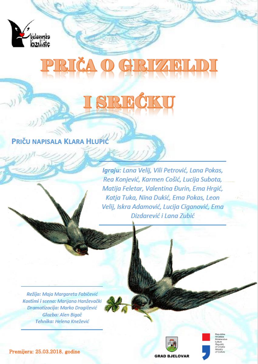 PRIČA O GRIZELDI I SREĆKU – Priču napisala Klara Hlupić