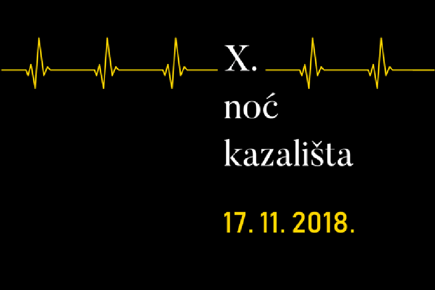 Pročitajte više o članku Noć kazališta 17.11.2018.
