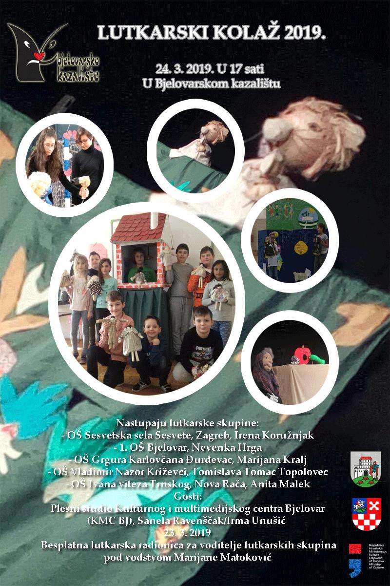 Pročitajte više o članku Lutkarski kolaž – Poziv na sudjelovanje u Lutkarsko – dramskoj radionici