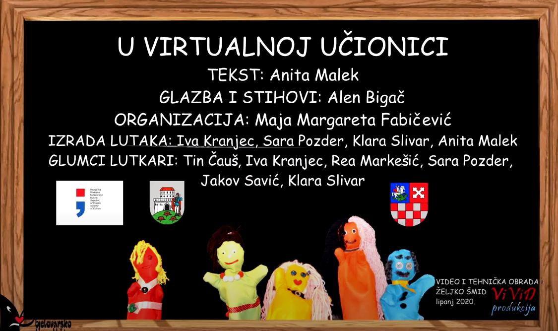 You are currently viewing U virtualnoj učionici – Bjelovarsko kazalište